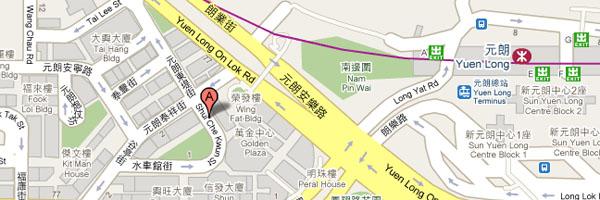 long'li'xian龙山镇地图